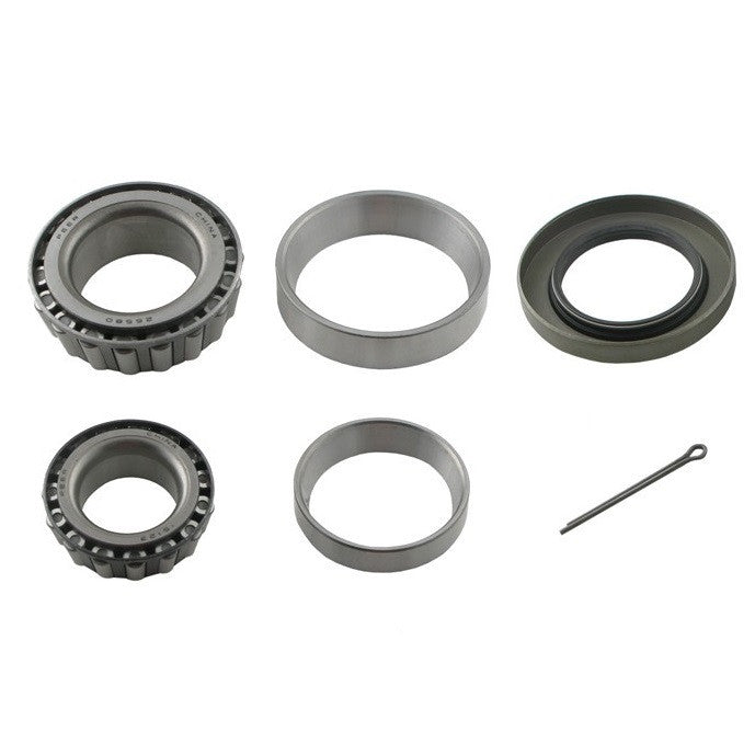 Bearing Kit for 5,200 - 7,000 lb Axle with LM67048/25580 Bearings, 10-10 Double Lip Seal
