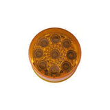 "Clearance/Marker Light, 2"" Round LED - AMBER (9 Diodes)"