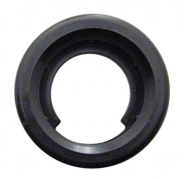 "Light Grommet, 2"" Round Black Rubber"