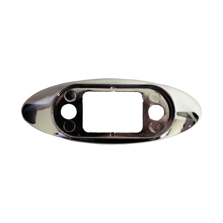 Clearance Light Bezel, Chrome
