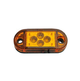 "Clearance/Marker Light, 2 1/2"" Mini LED - AMBER (4 Diodes)"