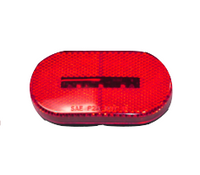 Oval LED Clearance Light-Red