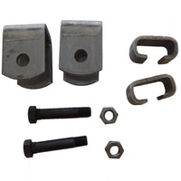 2K-3.5K Single Axle Hanger Kit - Slipper Springs