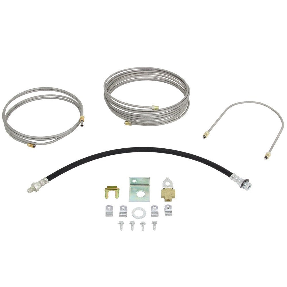 Hydraulic Brake Line Kit for Spring Single Axle Trailers - Drum Brakes