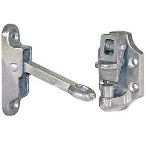 "Door Hold Back - 2"" Aluminum"