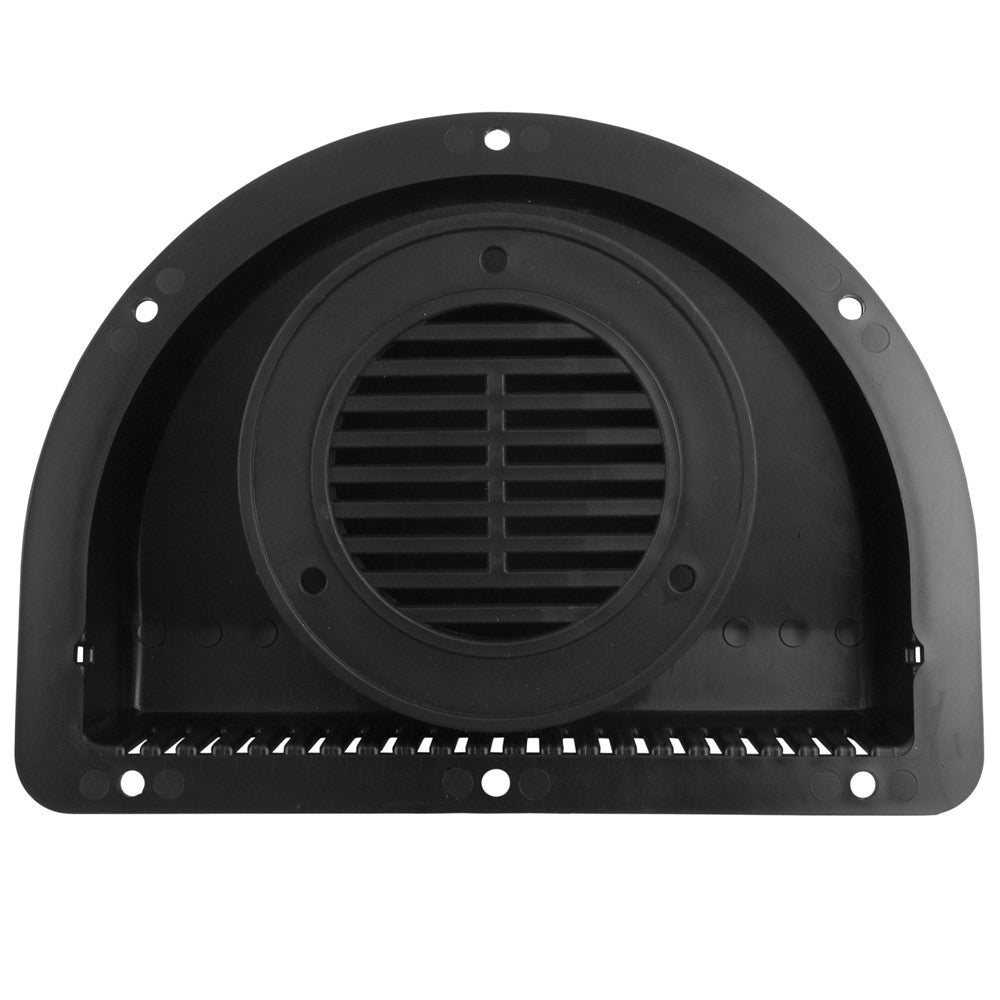 vent 2 piece for 3 diameter hole black www ordertrailerparts com