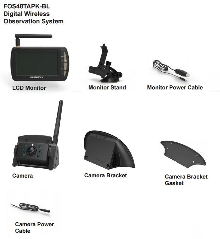 Wireless Observation System With Mounting Bracket Www