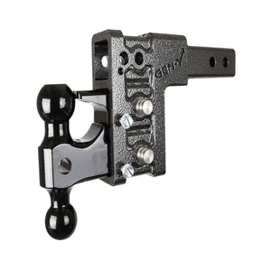 "5"" Drop Hitch, Mega-Duty Class V 16K 2"" - 2-5/16"" and Pintle"
