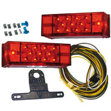 "Submersible LED Tail Light Kit for Trailers Over 80"" (8″ W x 2-3/4″ L)"