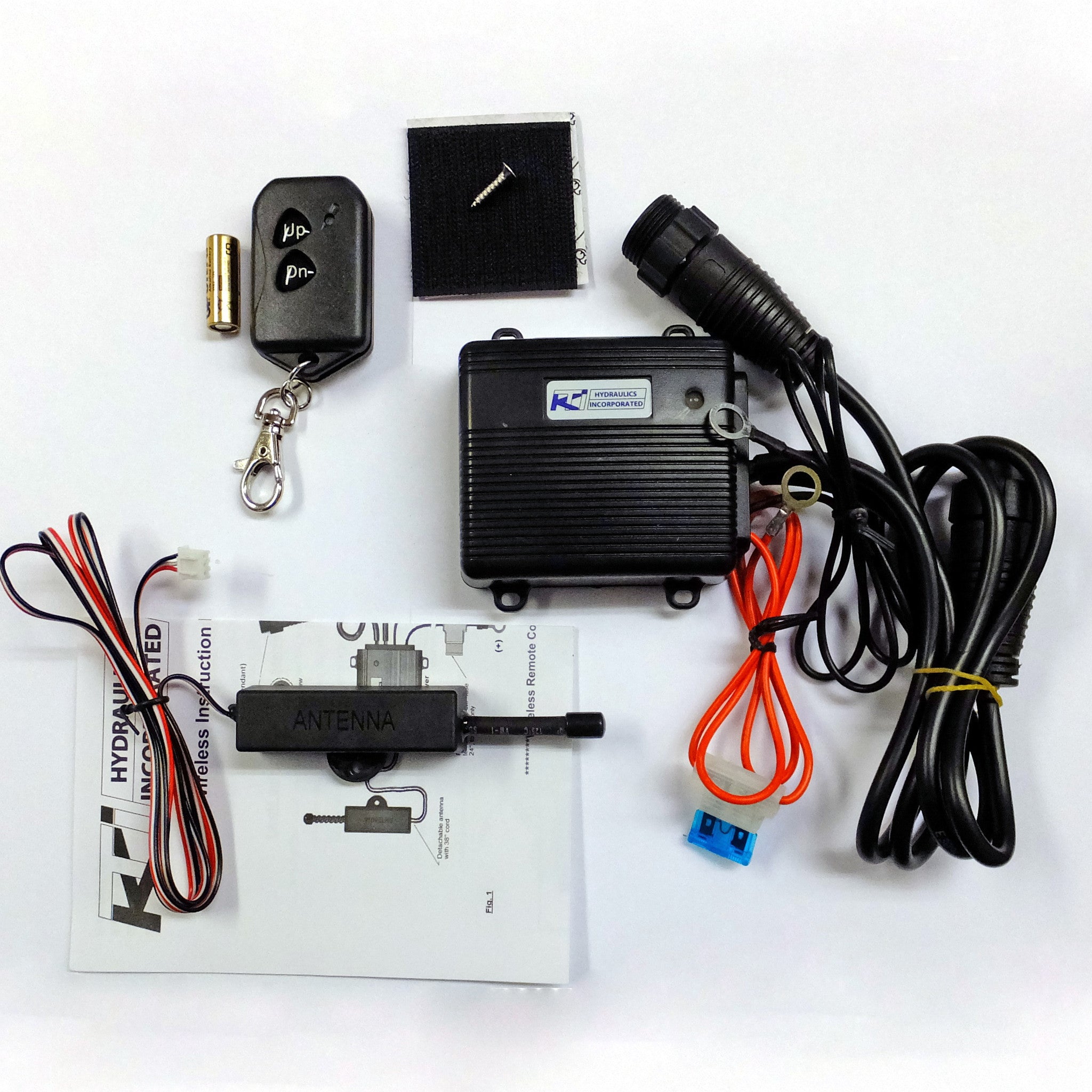 Wiring Connection Kit Dump Hydraulic Trailer Diagram Wireless Remote Kti Easy Install 2048x2048