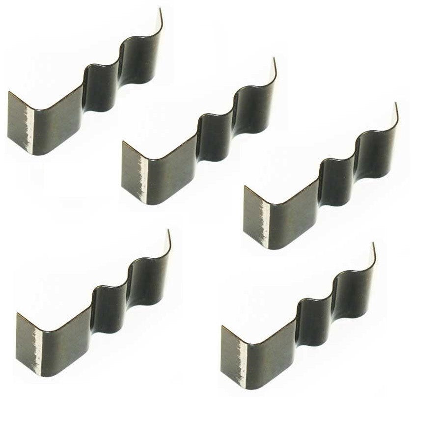 Spring Steel Wire Clips - Weld On