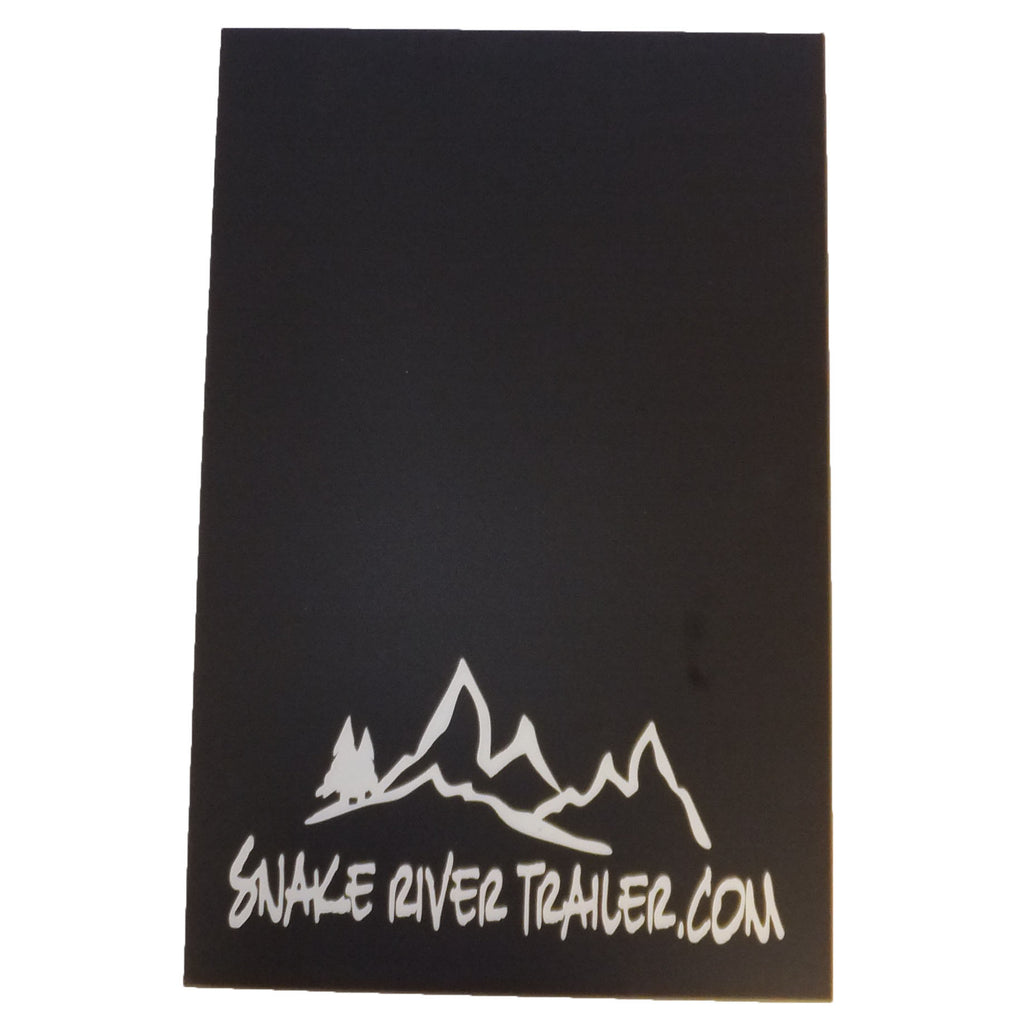 "Mud Flap 18.5""x12"" - Snake River"