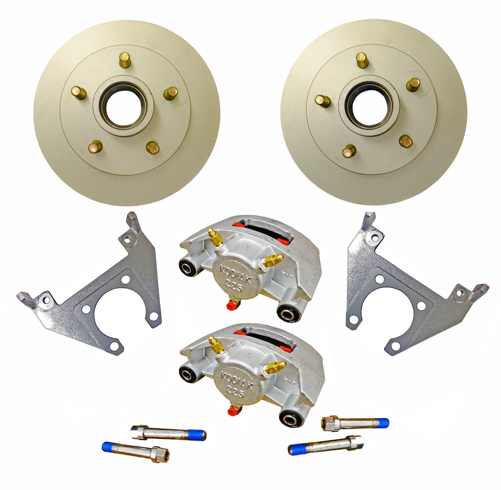 Disc Brake Kit for 3,500 LB Axle - Kodiak