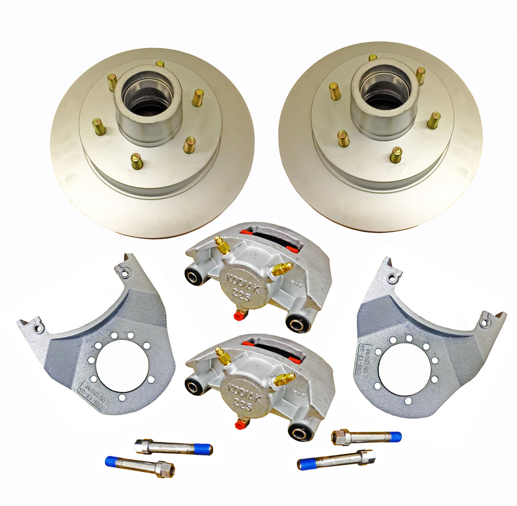 "Disc Brake Kit 12"" For 5,200-6,000 LB Axle - Kodiak"