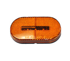 Oval LED Clearance Light-Amber