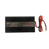 Panel Mount Battery Charger with Battery Tester - 18 Amps