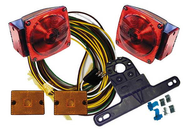 "Universal Deluxe Trailer Light Kit (Under 80"" Wide Trailers)"