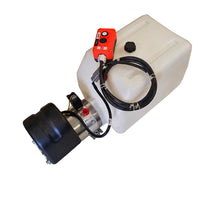 Bucher Hydraulic Hoist Pump - Single Acting  (Power Up/Gravity Down) TB-16/20