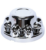"Chrome Hub Cover 8 Bolt 7/8"" Lug Nuts"