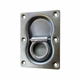 "D-Ring,  3/8"" Diameter Double Recessed"