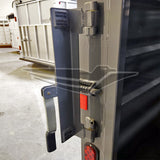 Rear Gate Latch, Stock Trailers