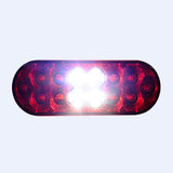 "6"" Oval LED Stop Turn Tail and Backup Light"