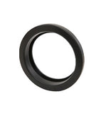 "Light Grommet, 4"" Round Black Rubber"