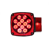 Square Combination LED Tail Light - Right Side