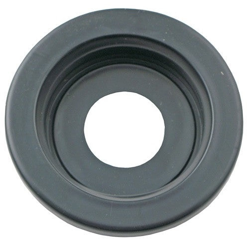 "Light Grommet, 2-1/2"" Round Black Rubber"