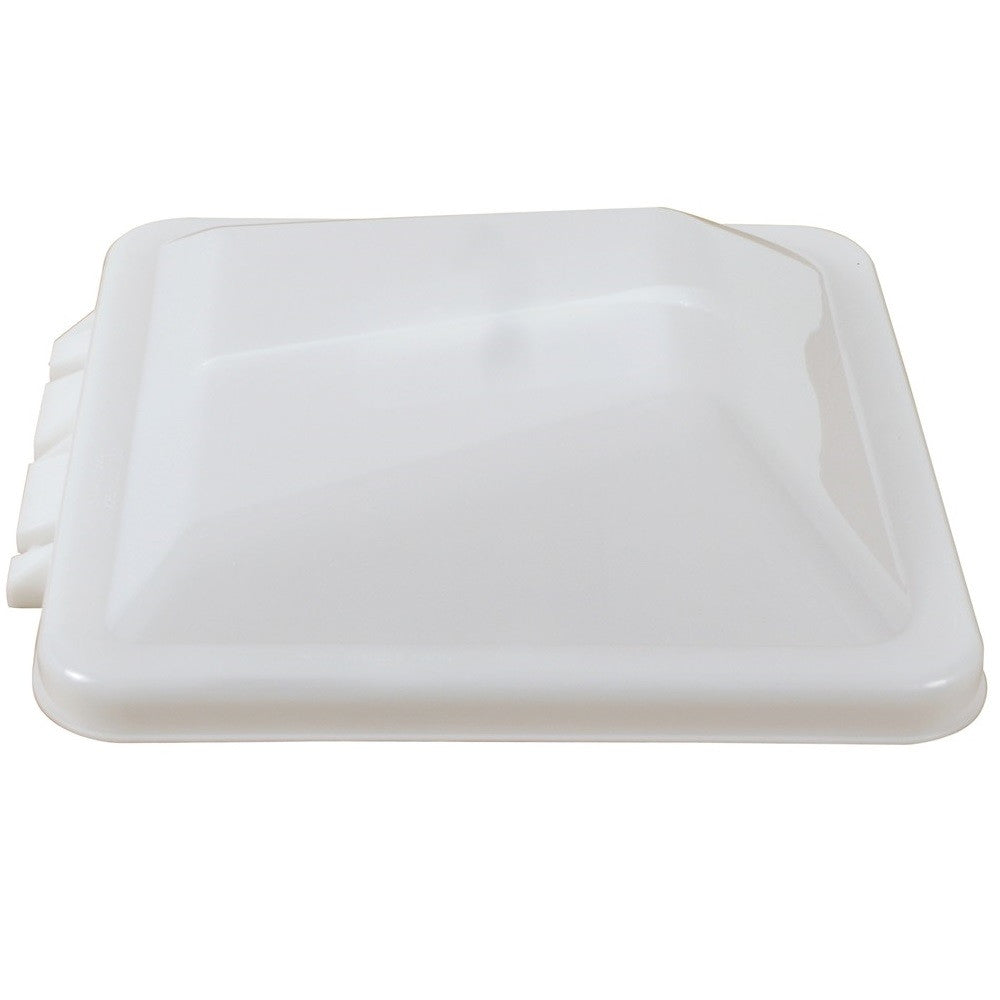 Vent Cover for Ventline Wedge Shaped Trailer Roof Vent  - White