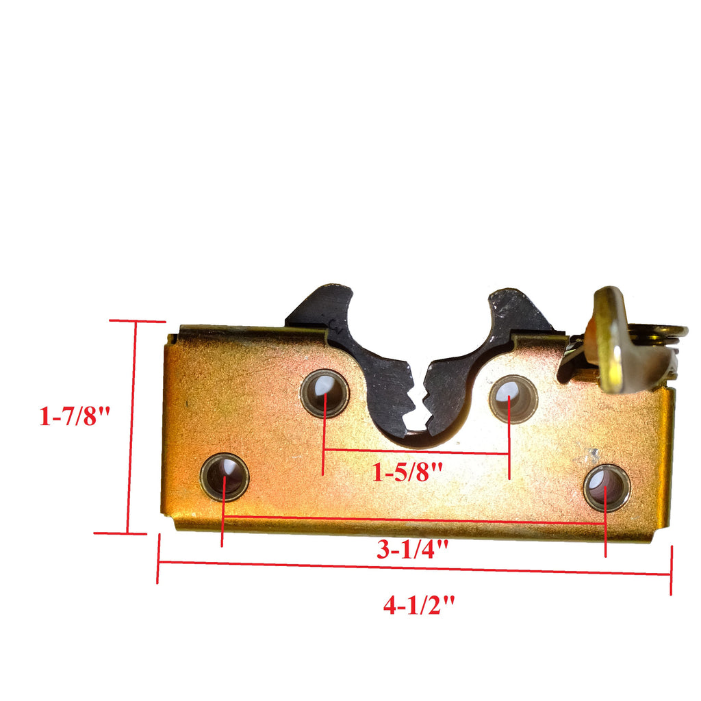Latch Rotary Style With Handle Www Ordertrailerparts Com