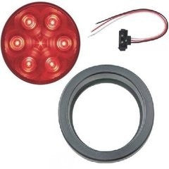 "Light, 4"" Round LED Stop and Turn Kit (7 Diodes)"