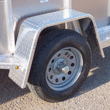 "Fender - 10""x36"" Single Axle Jeep Style (Aluminum)"