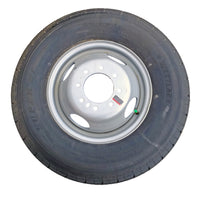 Tire & Wheel, ST235/80R16 LRE Premium Westlake Radial on 8 Hole Silver Wheel-Dually