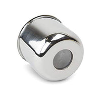 Stainless Steel Center Cap without Center Plug - 8 Hole (4.885