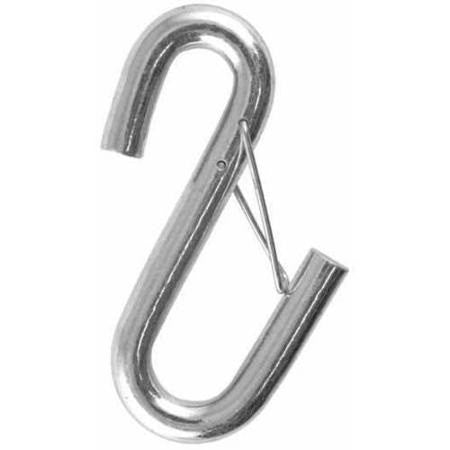 "Safety Hook - 7/16"" Zinc Plated with Latch"