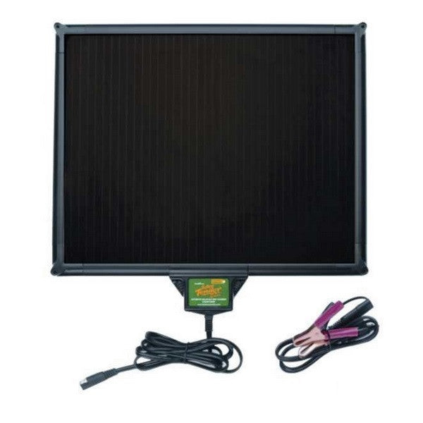 Solar Charger With Built-in Controller, 5-Watt - Dump Trailer Kit