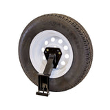Stake Pocket Spare Tire Mount - Universal Tire Size
