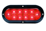 "6"" Oval LED Surface Mount Tail Light  (10 Diodes)"
