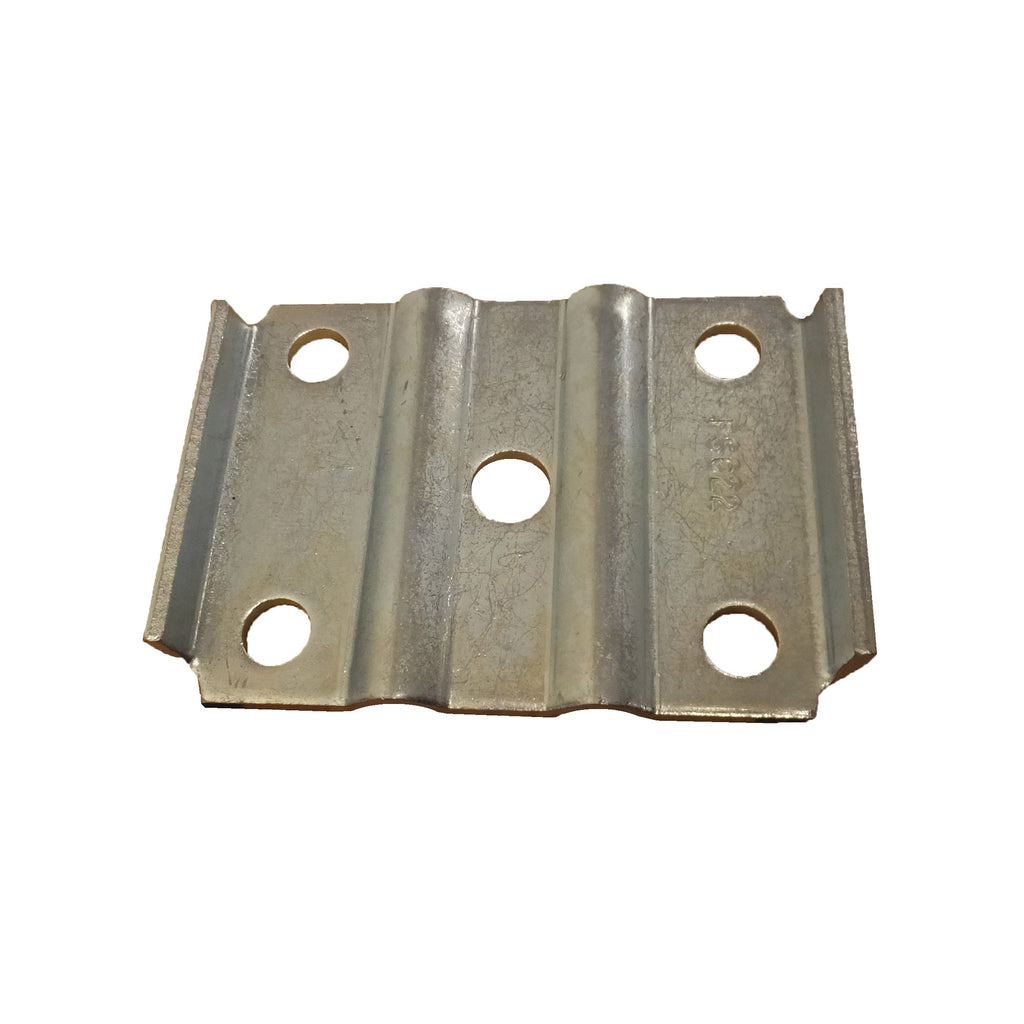 "U-Bolt Tie Plate For 1-3/4"" Wide Spring, 2-3/8"" Axle Beam (Galvanized)"