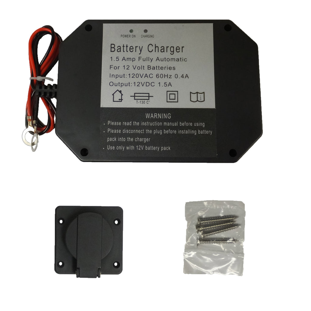 Panel Mount Battery Charger 1 5 Amps Www