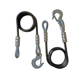 "60"" Tow Cables With Hooks And Keepers"