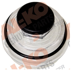 Oil Cap Kit (Screw-On) for 7K-8K Axles-1987 & Newer AL-KO/Hayes