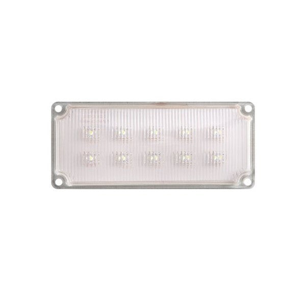 Rectangular Interior Surface Mount LED Light (10 Diodes)