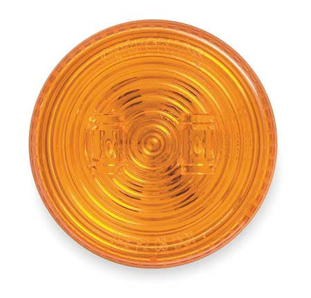 "Clearance/Marker Light, 2-1/2"" Round LED - AMBER (2 Diodes)"