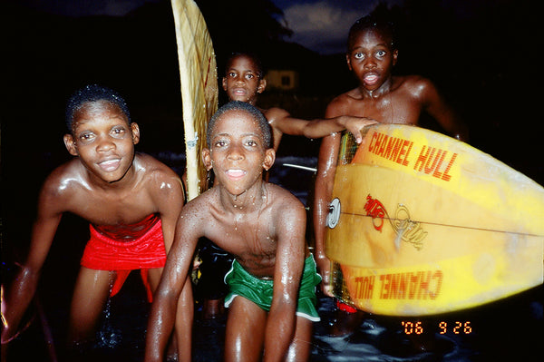 portrait of Jamaican kids