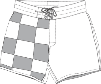 Men's 310 Board ShortsCheckers