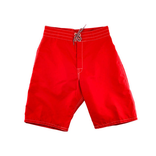 323 Red board shorts