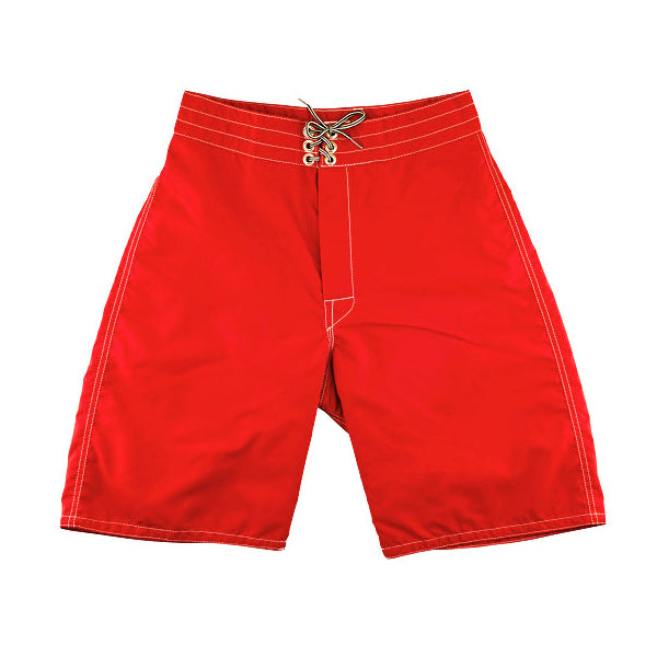 333 Red board shorts