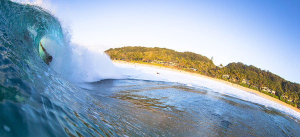 Kaha Nalu team rider Keali'i Punley at Backdoor